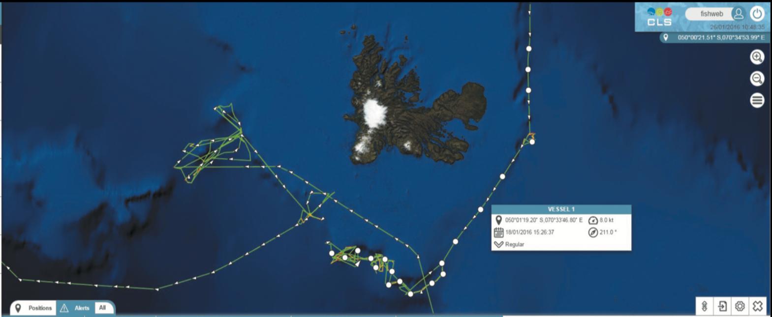 Fish Web map